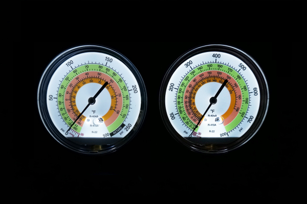 led refrigeration gauge2